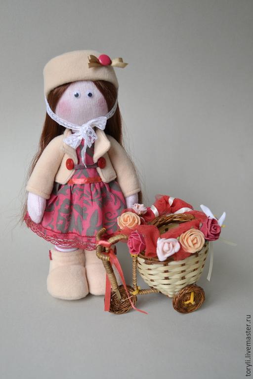 Коллекционные куклы ручной работы. Ярмарка Мастеров - ручная работа. Купить Текстильная кукла Мадлен. Handmade. Кукла, авторская кукла