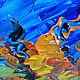 Репродукции ручной работы. Заказать Картина маслом по мотиву. Винсент Ван Гог. Тутовое дерево. Ксения Дубинина (Жукова). Ярмарка Мастеров.