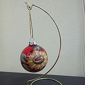 Подставки для новогодних шаров своими руками