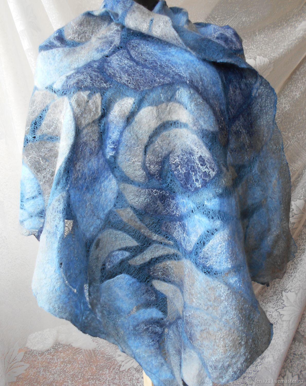 палантин Голубой бриз, Палантины, Раменское,  Фото №1
