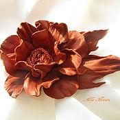 Украшения handmade. Livemaster - original item Brooch Camellia. Handmade.