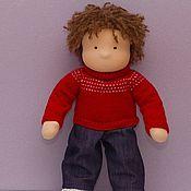 Куклы и игрушки handmade. Livemaster - original item The boy doll handmade 50 cm. Handmade.