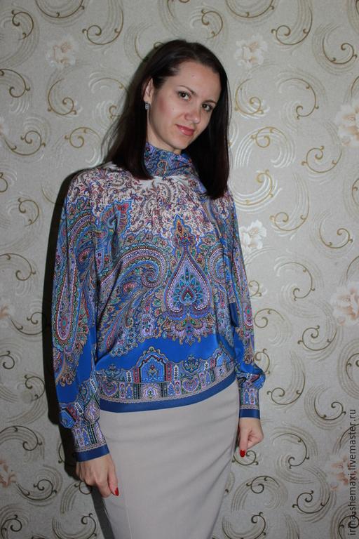 Блузки в восточном стиле купить