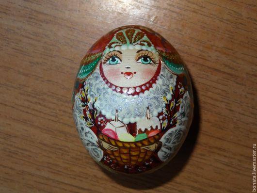Яйца ручной работы. Ярмарка Мастеров - ручная работа. Купить Яйцо пасхальное девушка. Handmade. Пасха, пасхальные подарки, яйца