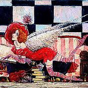 Картины и панно ручной работы. Ярмарка Мастеров - ручная работа Чашечка утреннего чая. Handmade.