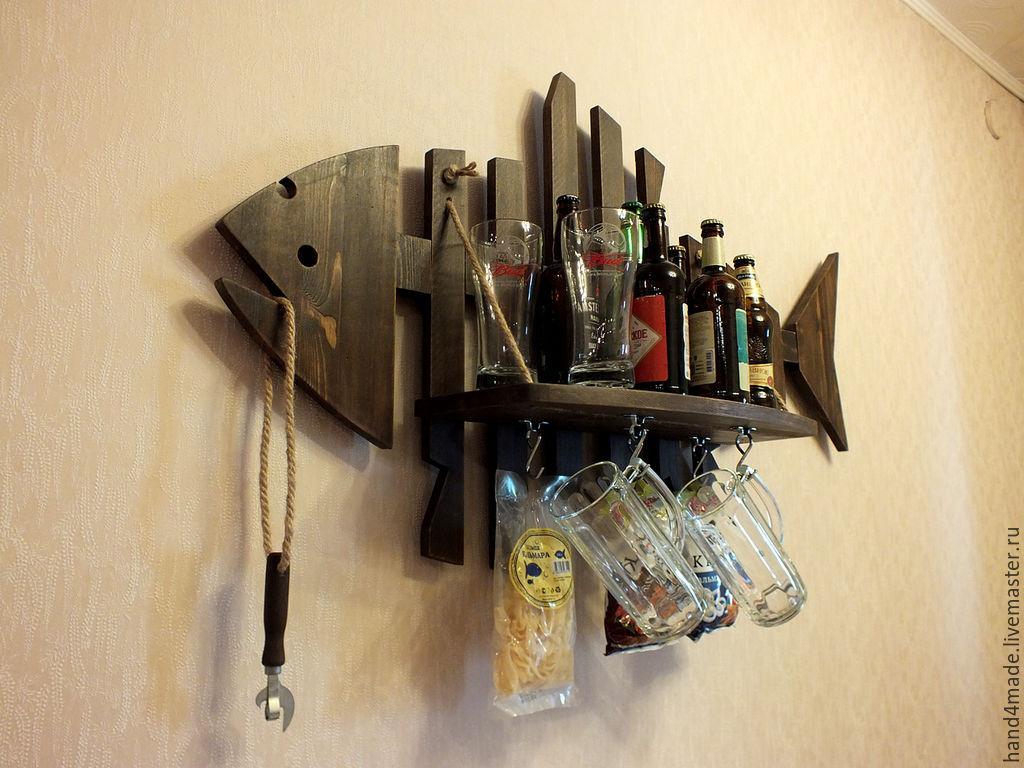 Интерьерный мини-бар `Fish-Bar`