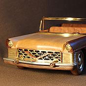 Куклы и игрушки ручной работы. Ярмарка Мастеров - ручная работа модель автомобиля Чайка. Handmade.