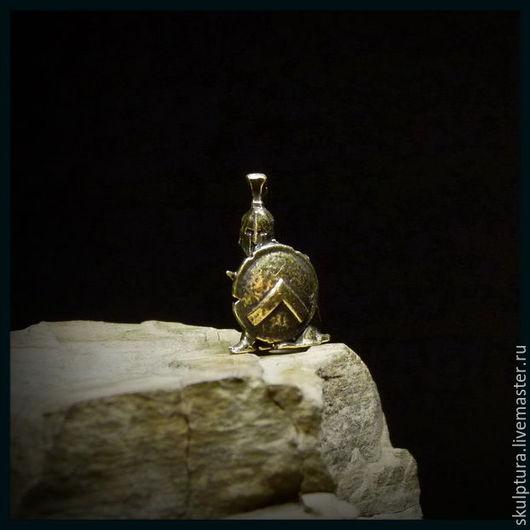 """Для украшений ручной работы. Ярмарка Мастеров - ручная работа. Купить Бусина """"Спартанец"""" для темляков или браслетов. Handmade. Темляк"""