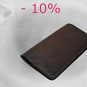 Сумки и аксессуары handmade. Livemaster - original item Mens leather wallet. Handmade.