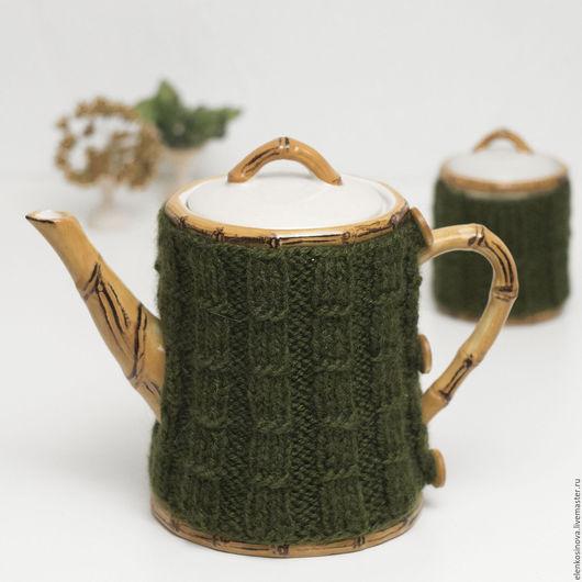 керамический чайник, чайник, заварочный чайник, грелка, грелка на чайник. грелка для чайник, новогодний подарок, уютный подарок