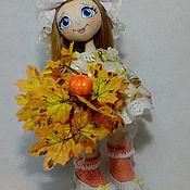 Куклы и игрушки handmade. Livemaster - original item Doll Sun Sovushka. Handmade.
