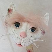 """Куклы и игрушки ручной работы. Ярмарка Мастеров - ручная работа Кошка в розочках """"Дождя не будет"""". Handmade."""