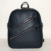 Сумки и аксессуары handmade. Livemaster - original item Backpack leather women