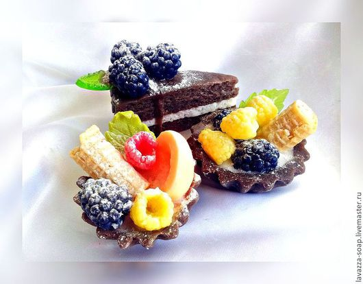 Мыло ручной работы. Ярмарка Мастеров - ручная работа. Купить Мыло Десерты. Handmade. Десерты, ягоды, тортик, вкусное мыло
