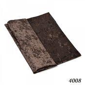 Винтаж ручной работы. Ярмарка Мастеров - ручная работа Плюш винтажный, тёмный шоколад, 50х50см, 100% п/э. Handmade.