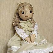 Куклы и игрушки ручной работы. Ярмарка Мастеров - ручная работа Примитивная, чердачная кукла Амели. Handmade.