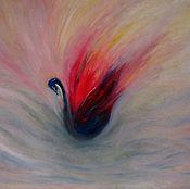 Картины ручной работы. Ярмарка Мастеров - ручная работа Картина маслом на холсте 50х70 Рождение утренней зари. Handmade.