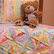 Куклы и игрушки ручной работы. Ярмарка Мастеров - ручная работа Комплект для кукольной кроватки 5. Handmade.