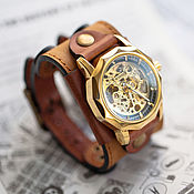 Украшения handmade. Livemaster - original item Mechanical wrist watch