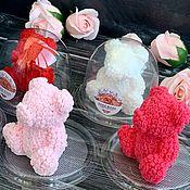 Мыло ручной работы. Ярмарка Мастеров - ручная работа Мыло ручной работы «Мишка из роз». Handmade.