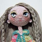 Куклы и игрушки ручной работы. Ярмарка Мастеров - ручная работа Даша. Каркасная кукла.. Handmade.