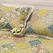 Пледы ручной работы. Ярмарка Мастеров - ручная работа IBIZA лоскутное покрывало на кровать в спальню. Handmade.