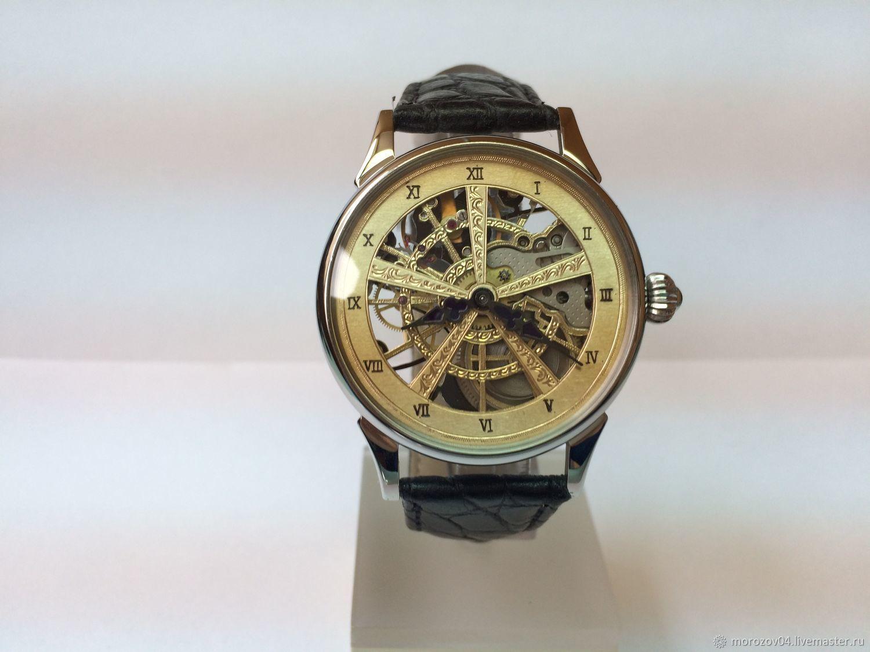 Механические часы ручной работы. 187, Часы, Москва, Фото №1