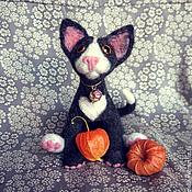 Куклы и игрушки ручной работы. Ярмарка Мастеров - ручная работа Котик Томас. Handmade.