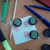 Штампы ручной работы. Ярмарка Мастеров - ручная работа Печать для учителя. Handmade.