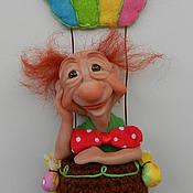 Куклы и игрушки ручной работы. Ярмарка Мастеров - ручная работа По вторникам над мостовой.... Handmade.