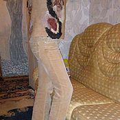 Одежда ручной работы. Ярмарка Мастеров - ручная работа жилет валяние Песочный. Handmade.