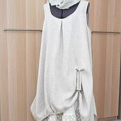 Одежда handmade. Livemaster - original item 199.5 Linen sundress-boho. Handmade.