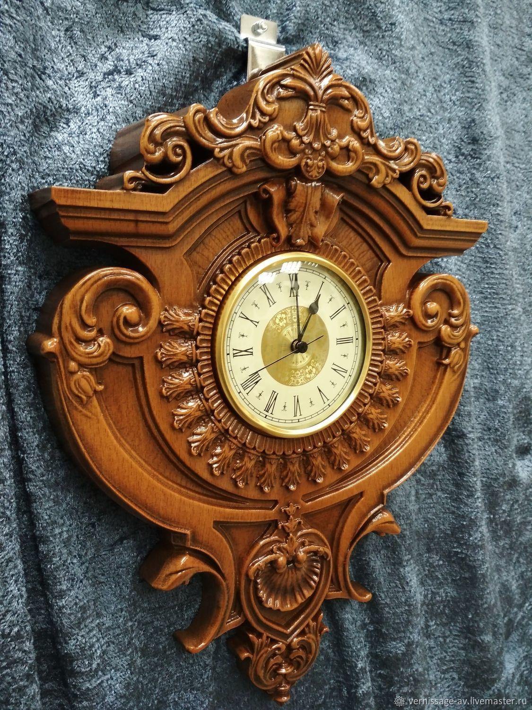 лада древних резные часы из дерева картинки внешним