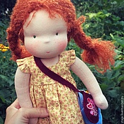 Куклы и игрушки ручной работы. Ярмарка Мастеров - ручная работа Рыжулечка. Handmade.
