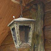 Для дома и интерьера ручной работы. Ярмарка Мастеров - ручная работа старый уличный фонарь. Handmade.