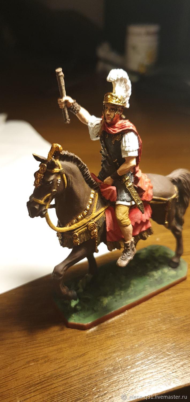 Конный солдатик коллекционный, Военная миниатюра, Санкт-Петербург,  Фото №1