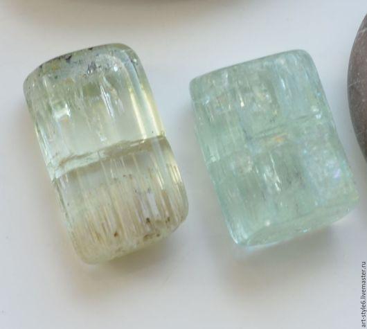 Для украшений ручной работы. Ярмарка Мастеров - ручная работа. Купить Аквамарин и берилл, кристалл, 15-17 мм. Handmade.