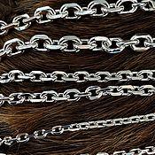 Украшения handmade. Livemaster - original item Anchor chain 6,1 mm. Handmade.