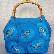 Классическая сумка ручной работы. Ярмарка Мастеров - ручная работа Сумка большая Сокровища Андаманского моря. Handmade.