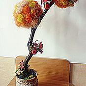Цветы и флористика ручной работы. Ярмарка Мастеров - ручная работа autumn tree. Handmade.