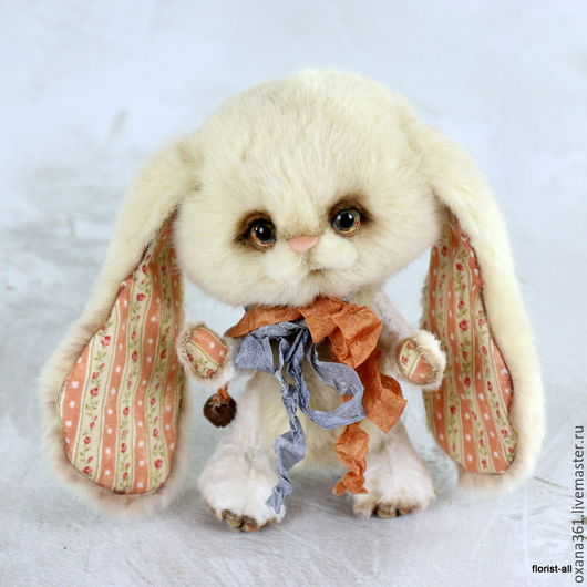 """Мишки Тедди ручной работы. Ярмарка Мастеров - ручная работа. Купить заяц друзья  Тедди """" Зайчик Саша """". Handmade."""