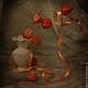 Фотокартины ручной работы. Ярмарка Мастеров - ручная работа. Купить Натюрморт Физалис-фонарик. Handmade. Осень, дизайн, интерьер, натюрморт
