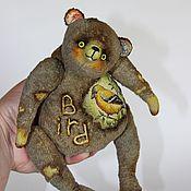 """Куклы и игрушки ручной работы. Ярмарка Мастеров - ручная работа Музыкальный мишка """"Bird"""". Handmade."""