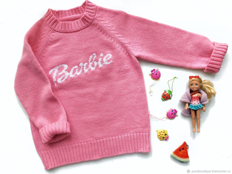 Свитер шерстяной Barbie, Свитеры, Москва,  Фото №1