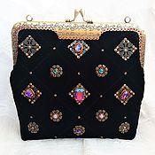 Сумки и аксессуары handmade. Livemaster - original item Evening handbag, velvet