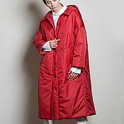 Одежда handmade. Livemaster - original item Women`s insulated coat Red Star. Handmade.