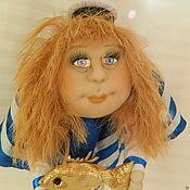 Куклы и игрушки ручной работы. Ярмарка Мастеров - ручная работа Подарок моряку Морячка. Handmade.