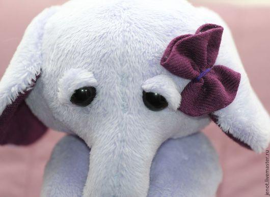 Мишки Тедди ручной работы. Ярмарка Мастеров - ручная работа. Купить Лавандина. Handmade. Сиреневый, слон, подарок
