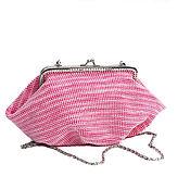 Сумки и аксессуары ручной работы. Ярмарка Мастеров - ручная работа сумочка бисерная Коралловая. Handmade.