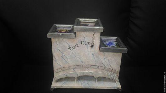 Кухня ручной работы. Ярмарка Мастеров - ручная работа. Купить чайный домик с ирисами. Handmade. Комбинированный, чайный домик